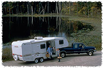 RVing allows relaxing getaways